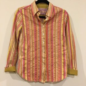 Robert Graham multi colored shirt